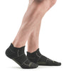 Stego EnduroTec+ Merino Wool Ultra Light No Show Socks, Charcoal/Grey