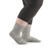 Stego StrideTec+ Merino Wool Ultra Light Crew Socks, Grey