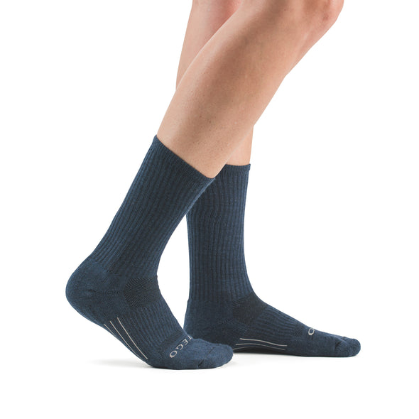 Stego StrideTec+ Merino Wool Ultra Light Crew Socks, Navy