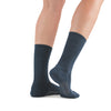 Stego StrideTec+ Merino Wool Ultra Light Crew Socks, Navy, Rear