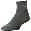 Drymax Trail Running 1/4 Crew Socks, Foliage Green Heathered
