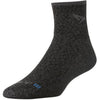 Drymax Trail Running 1/4 Crew Socks, Graphite Heathered