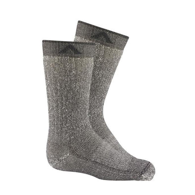 Wigwam Merino Kid's Comfort Hiker Socks, 2 Pack, Charcoal II