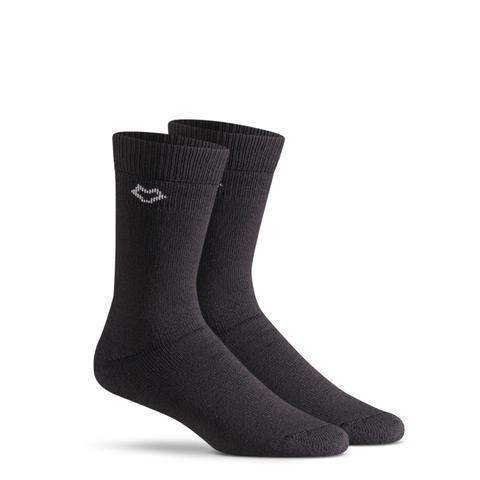 Fox River Wick Dry® Tramper Crew Socks, Black