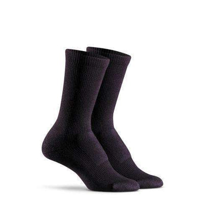 Fox River Women's Merino Hiker Crew Socks, Black