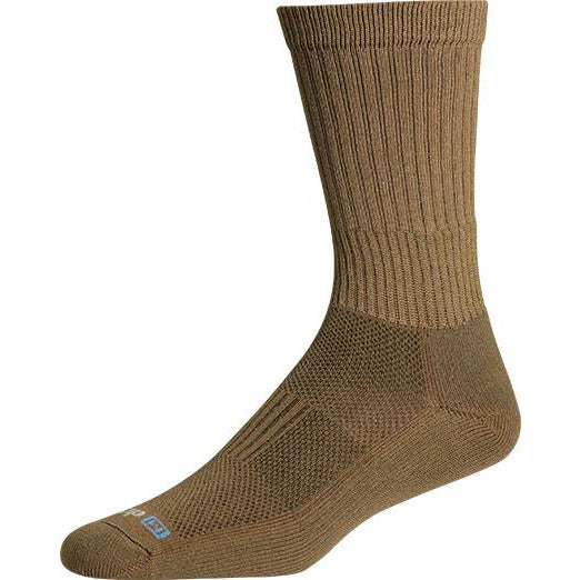 Drymax Active Duty Crew Socks, Coyote Brown