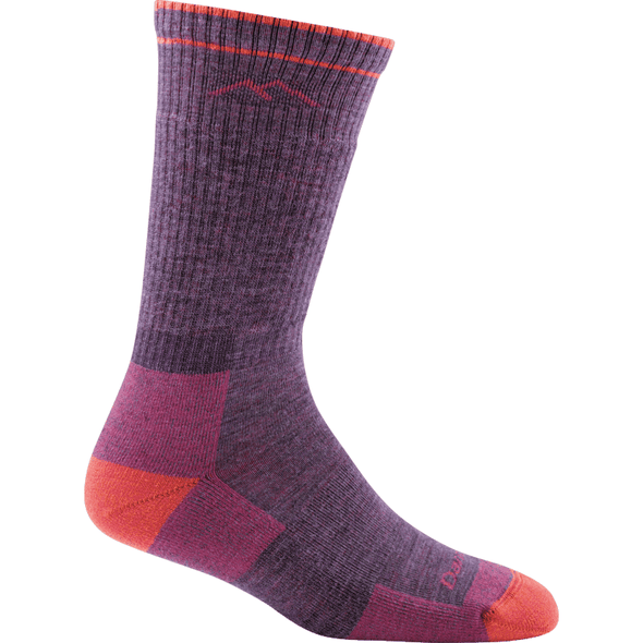 Darn Tough Women's Hiker Boot Sock Cushion, Plum Heather