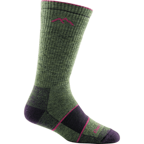 Darn Tough Women's Hiker Boot Sock Full Cushion, Moss Heather