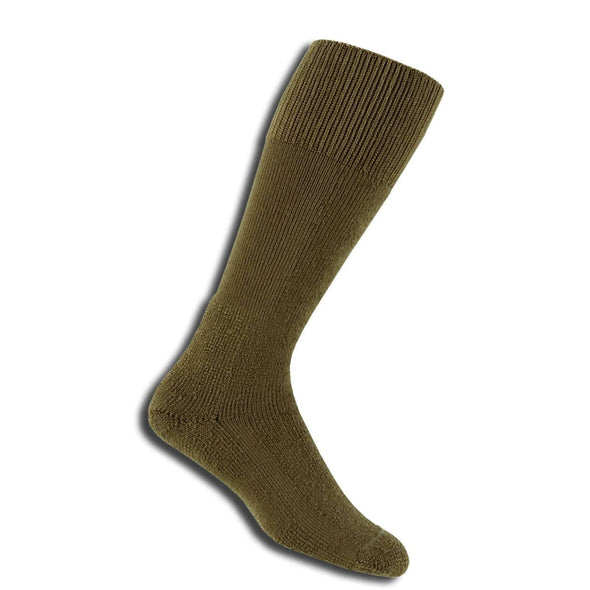 Thorlos Combat Boot Over-Calf Socks, Brown