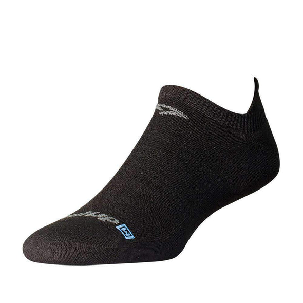 Drymax Running Lite-Mesh No Show Tab Socks, Black