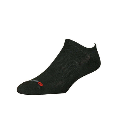 Drymax Golf Lite Mesh No Show Socks, Black
