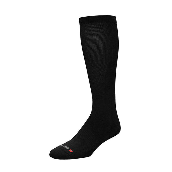 Drymax Work Boot Over Calf Socks, Black