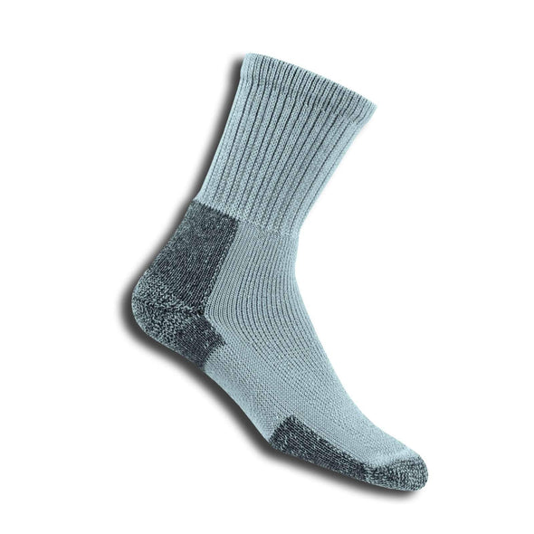 Thorlos Men's Hiking Crew Socks, Grey