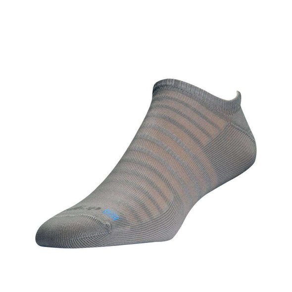 Drymax Hyper Thin Running Mini Crew Socks, Light Grey