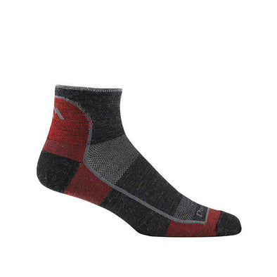 Darn Tough Men's 1/4 Sock Light - Team DTV, XL