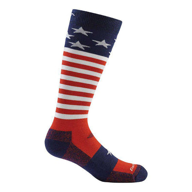 Darn Tough Kid's Captain Stripes Jr. Over-the-Calf Light Sock