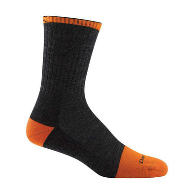 Darn Tough Men's Steely Micro Crew Socks w/ Full Cushion Toe