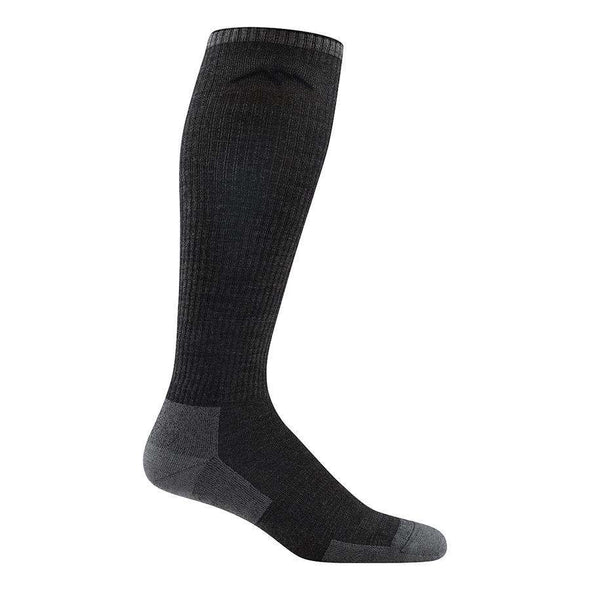 Darn Tough Men's Westerner Over-The-Calf Light Cushion Sock, Charcoal