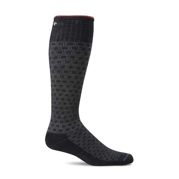 Sockwell Men's Shadow Box Moderate Compression Socks