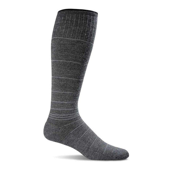 Sockwell Men's Circulator Moderate Compression Socks, Charcoal