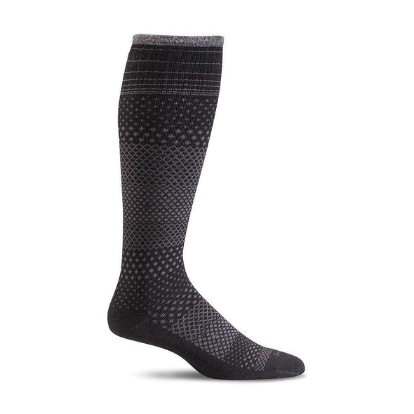 Sockwell Women's Micro Grade Moderate Compression Socks, Black