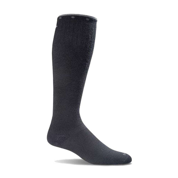Sockwell Women's On The Spot Moderate Compression Socks, Black