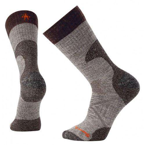 Smartwool Men's PhD® Hunt Medium Crew Socks, Taupe