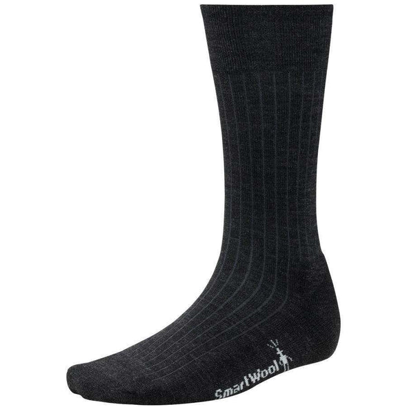 Smartwool Men's New Classic Rib Socks, Charcoal