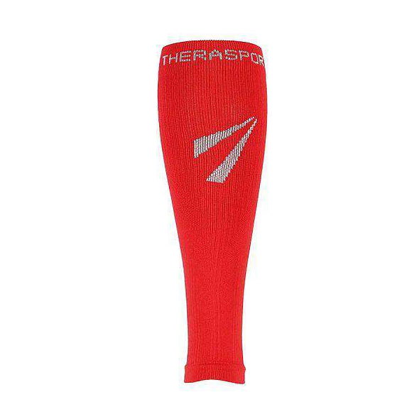 TheraSport Mild Compression Athletic Recovery Sleeves, Red
