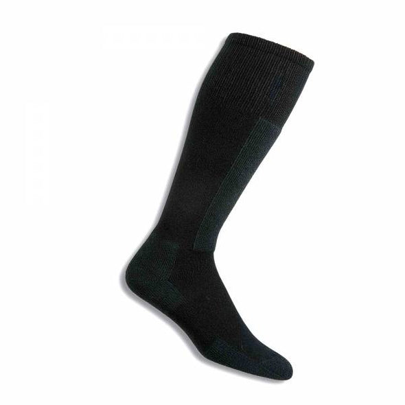Thorlos SL Skiing Light Cushion Over-Calf Socks, Black Diamond