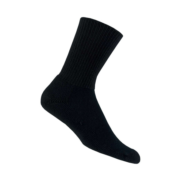 Thorlos Running Crew Socks, Black