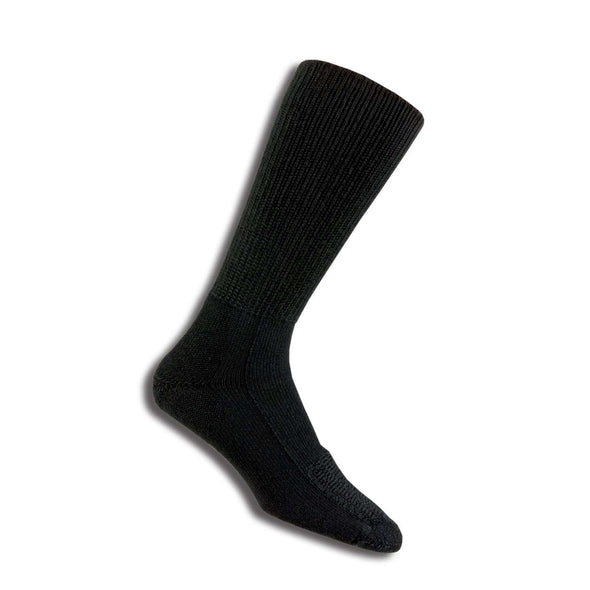 Thorlos Safety Steel Toe Boot Socks, Black