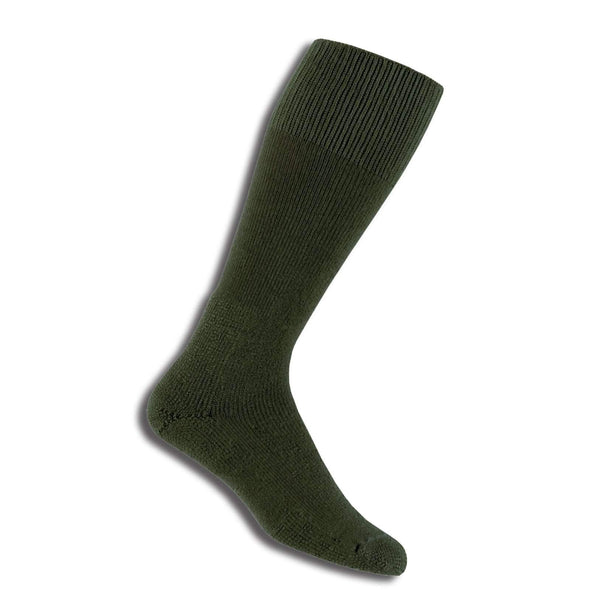 Thorlos Combat Boot Over-Calf Socks, Olive