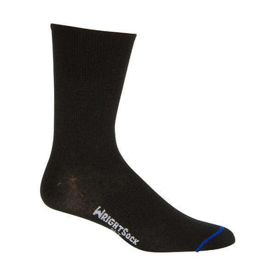 Wrightsock Ultra Thin Crew Socks, Black