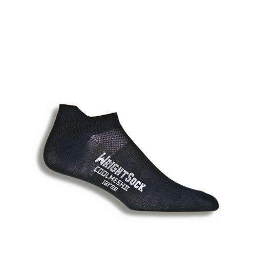 Wrightsock CoolMesh II Tab Socks, Black