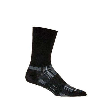 Wrightsock Stride Crew Socks, Black