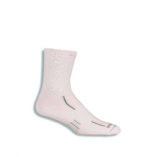 Wrightsock Stride Crew Socks, White