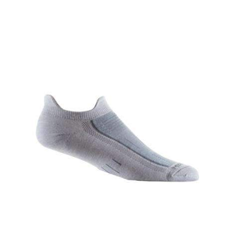 Wrightsock Endurance Double Tab Socks, Light Grey/Grey