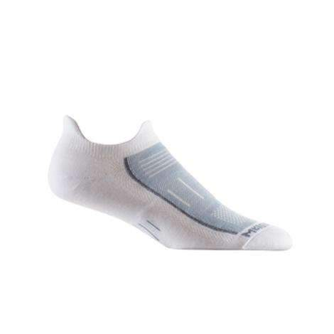 Wrightsock Endurance Double Tab Socks, White/Grey