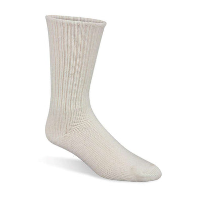 Wigwam 625 Crew Socks, White