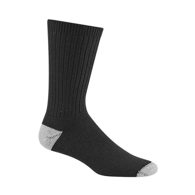 Wigwam Diabetic Sport Crew Socks, Black