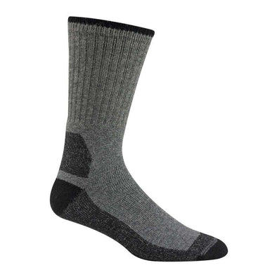 Wigwam At Work Double Duty Crew Socks, 2 Pack, Grey