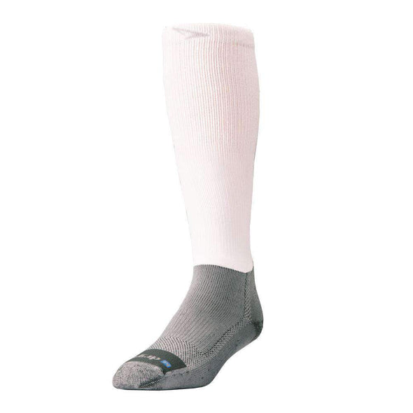 Drymax Work Boot Over Calf Socks, White/Grey