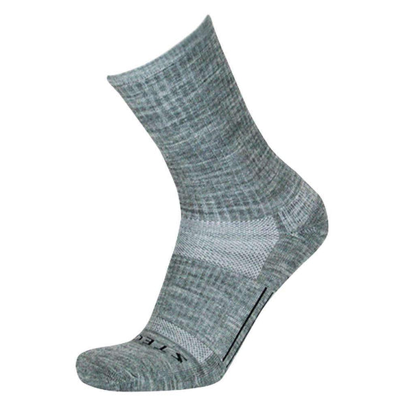 Stego StrideTec+ Merino Wool Cushioned Crew Socks