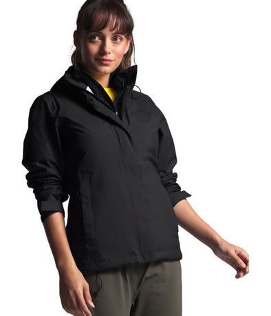 The North Face Women's Venture 2 Jacket, TNF Black/TNF Black