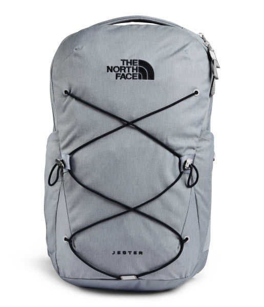 The North Face Jester Backpack, Mid Grey Dark Heather/TNF Black