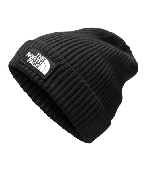 The North Face Logo Box Cuffed Beanie, TNF Black