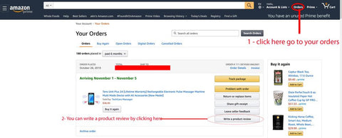 how to write review on amazon