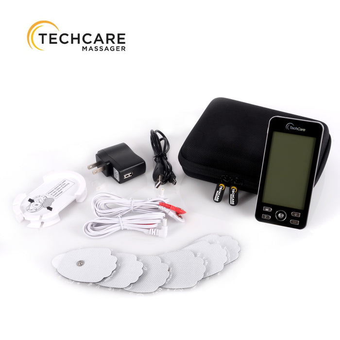 hard travel case for tens device, tens unit case