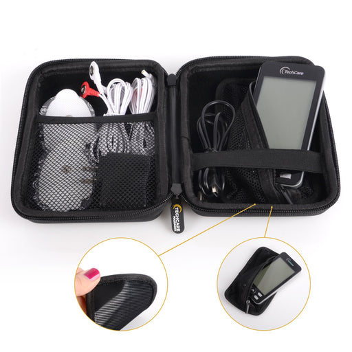Hard Travel Case for TechCare Plus 24 and Touch Tens Unit